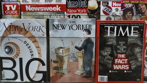 Týdeník The New Yorker na pultu - Sputnik Česká republika