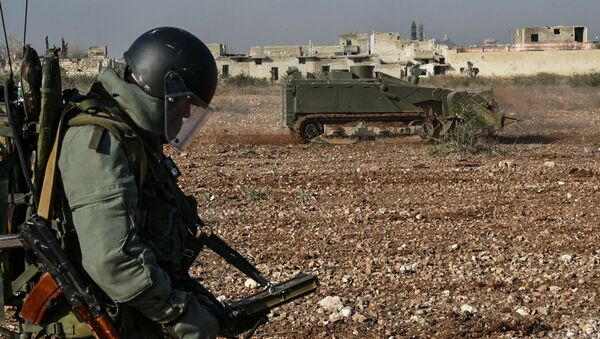 Odminování Aleppa - Sputnik Česká republika