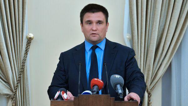 Šéf ukrajinské diplomacie Pavlo Klimkin - Sputnik Česká republika
