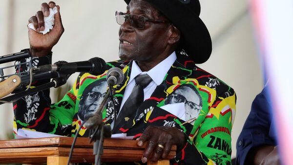 Prezident Zimbabwe Robert Mugabe - Sputnik Česká republika