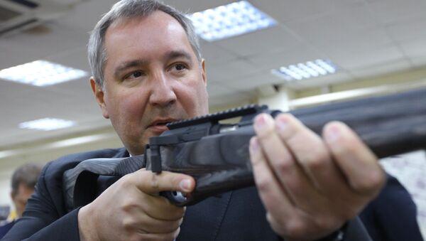 Ruský vicepremiér Dmitrij Rogozin - Sputnik Česká republika