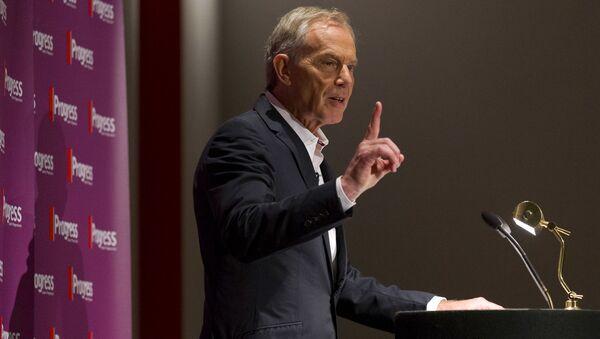Bývalý britský premiér Tony Blair. Ilustrační foto - Sputnik Česká republika