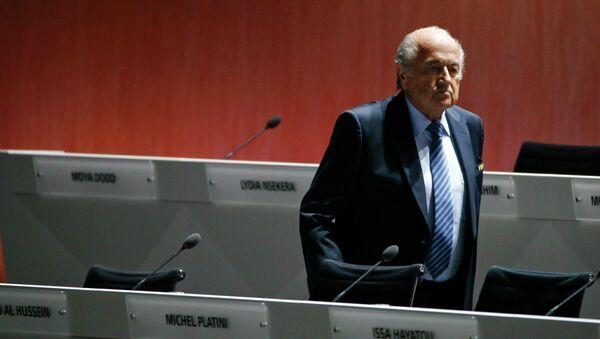 Joseph Blatter, prezident FIFA - Sputnik Česká republika