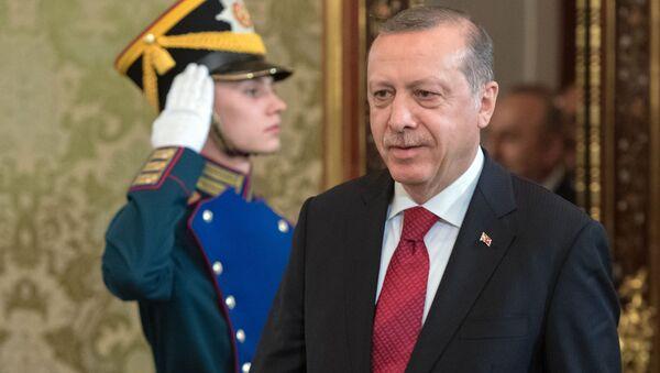 Prezident Turecka Recep Erdogan - Sputnik Česká republika