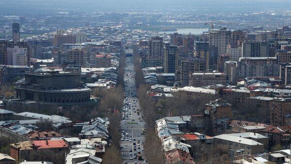 Pohled na Jerevan - Sputnik Česká republika