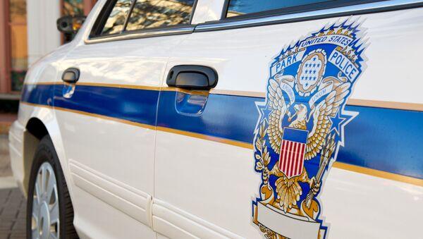 Americký policejní vůz - Sputnik Česká republika