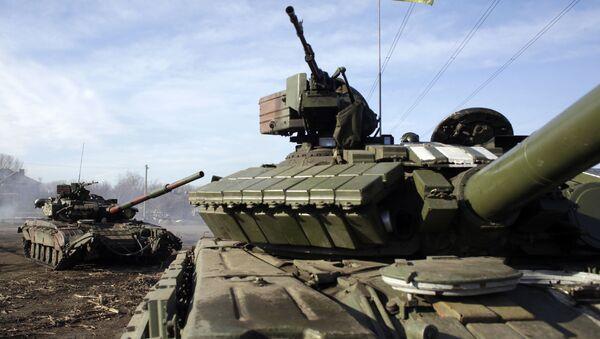 Ukrajinské tanky - Sputnik Česká republika