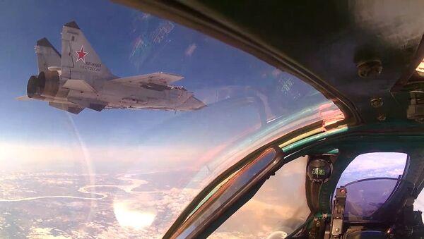 Operativně-taktické letectvo Ruska změnilo základny v rámci náhlé prověrky - Sputnik Česká republika
