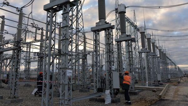 Stavba energetického mostu na Krymu - Sputnik Česká republika