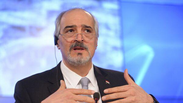 Vedoucí syrské vládní delegace Bashar Jaafari - Sputnik Česká republika