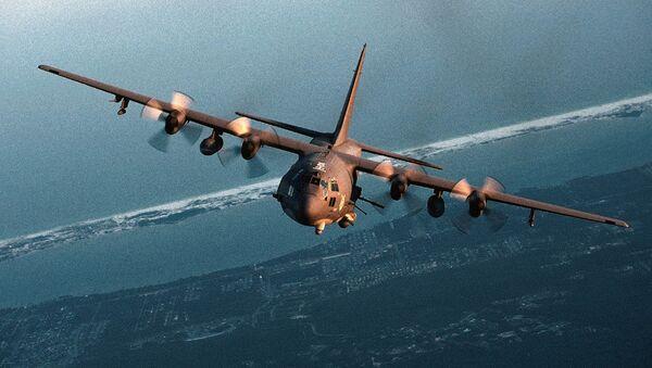 Letadlo As-130 (ilustrační foto) - Sputnik Česká republika