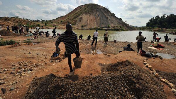 Naleziště diamantů v Sierra Leone - Sputnik Česká republika