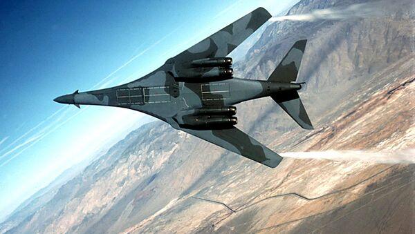 Americké útočné letadlo B-1B Lancer - Sputnik Česká republika