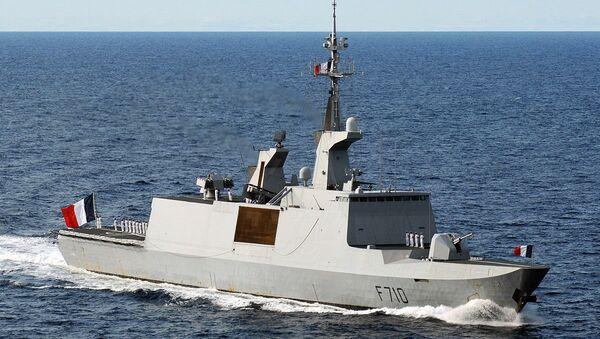 French frigate La Fayette (F-710) - Sputnik Česká republika