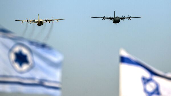 Izraelská letadla C-130 Hercules a C130J Super Hercules - Sputnik Česká republika