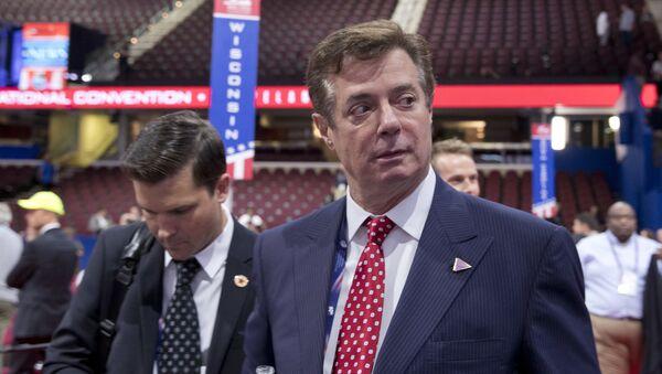 Bývalý vedoucí předvolebního štábu prezidenta USA Paul Manafort - Sputnik Česká republika