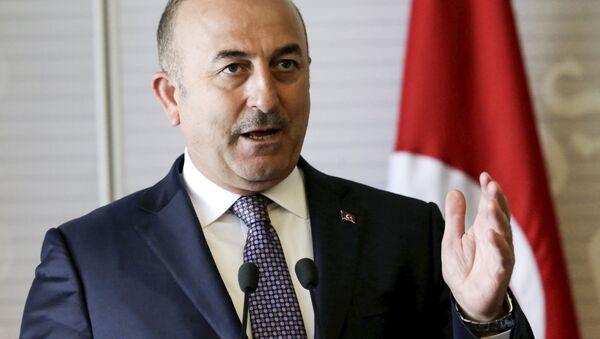 Turecký ministr zahraničí Mevlut Cavusoglu - Sputnik Česká republika