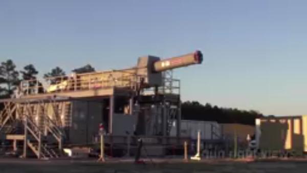 Test elektromagnetické pušky - Sputnik Česká republika