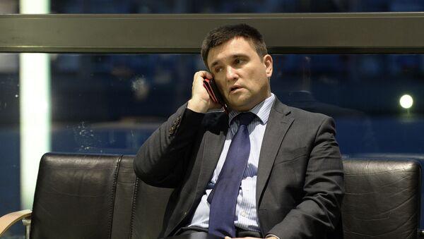 Ministr zahraničí Ukrajiny Pavel Klimkin - Sputnik Česká republika