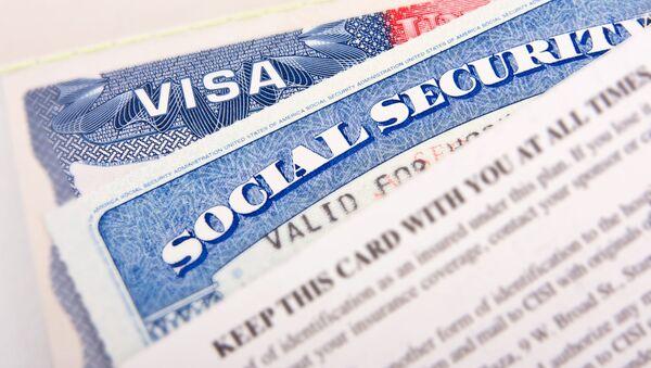 Americké vízum - Sputnik Česká republika