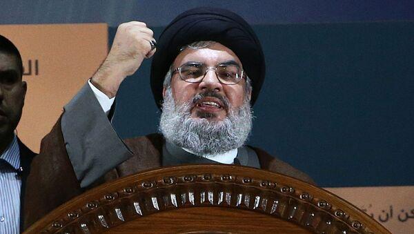 Lídr Hizballáhu Hasan Hasralláh - Sputnik Česká republika