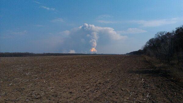 Požár v Balakleji - Sputnik Česká republika