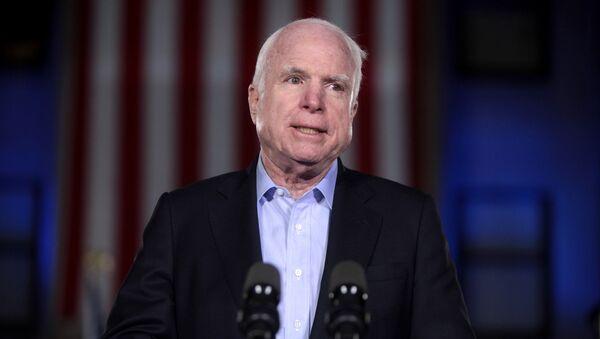 Předseda obranného výboru amerického Senátu John McCain - Sputnik Česká republika