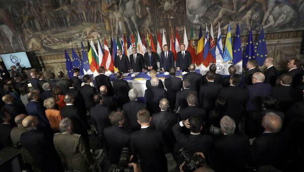 Summit EU v Římě - Sputnik Česká republika