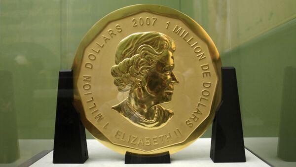 Z berlínského muzea byla ukradena zlatá mince v hodnotě milionu dolarů - Sputnik Česká republika
