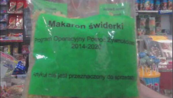 Ukrajina rozprodává polskou humanitární pomoc - Sputnik Česká republika