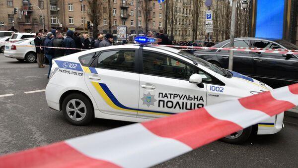 Místo vraždy bývalého ruského poslance Děnisa Voroněnkova - Sputnik Česká republika