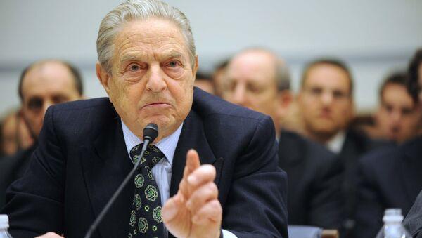 Americký miliardář George Soros - Sputnik Česká republika