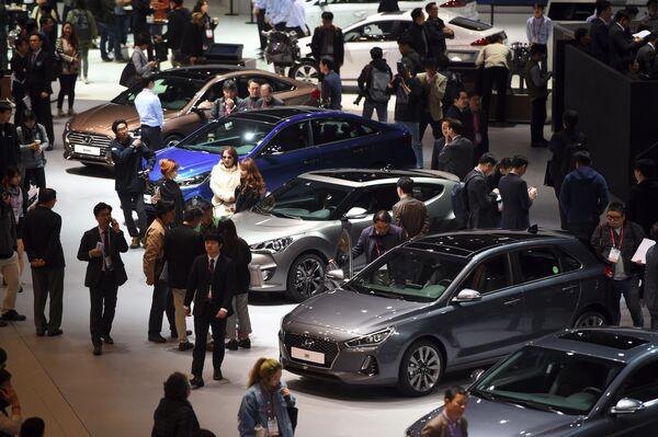 Novinky automobilového trhu na Seoul Motor Show - Sputnik Česká republika