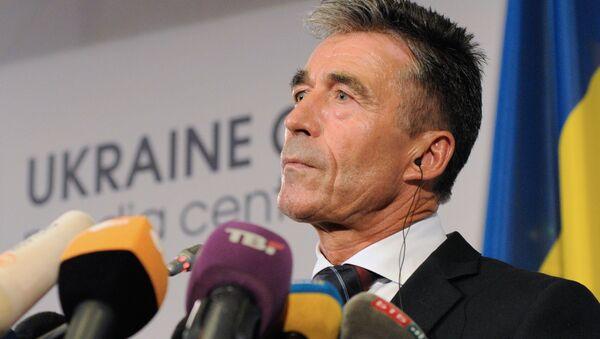 Bývalý generální tajemník NATO Anders Fogh Rasmussen - Sputnik Česká republika