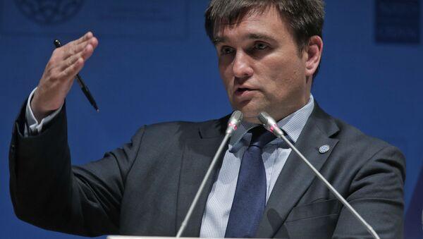 Ukrajinský ministr zahraničí Pavel Klimkin - Sputnik Česká republika