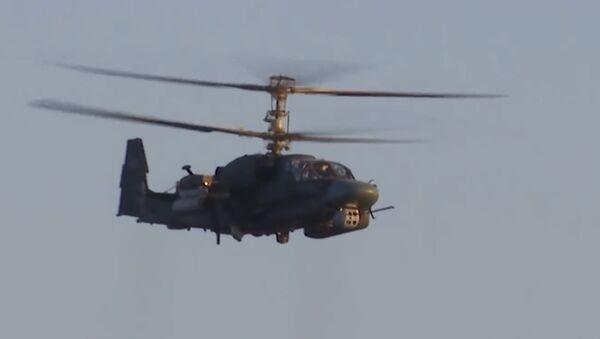 Vrtulník Ka-52K - Sputnik Česká republika