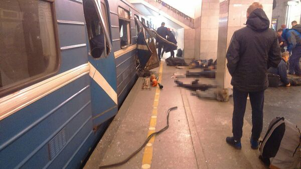 Výbuchy v metru Petrohradu - Sputnik Česká republika