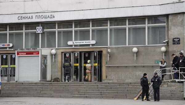 Petrohradským metrem otřásl výbuch - Sputnik Česká republika