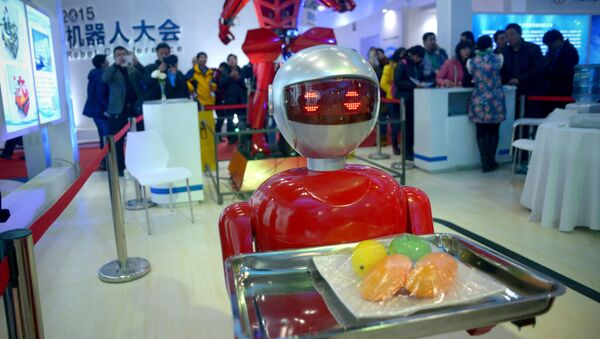 Výstava robotů v Pekingu - Sputnik Česká republika