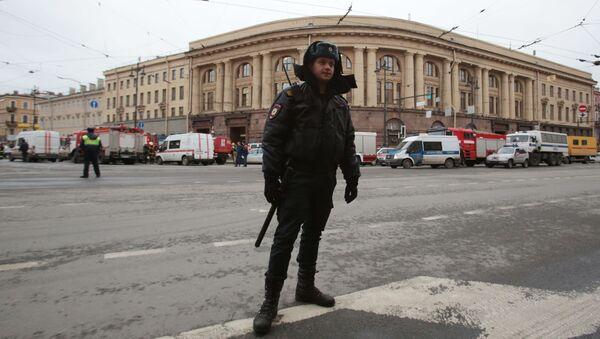 Situace v Petrohradě - Sputnik Česká republika