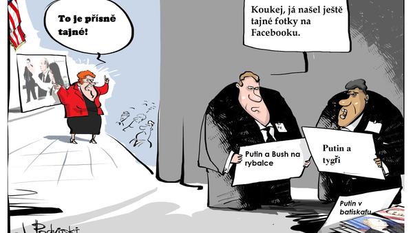 Kvalita amerických špionů... - Sputnik Česká republika