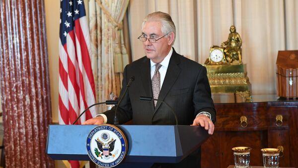 Ministr zahraničí USA Rex Tillerson - Sputnik Česká republika