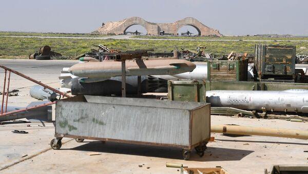 Následky útoku USA v Sýrii - Sputnik Česká republika