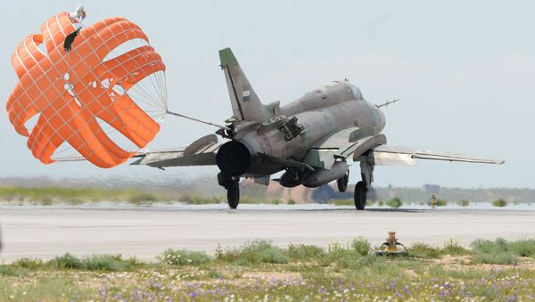 Letadlo syrského letectva. Ilustrační foto. - Sputnik Česká republika