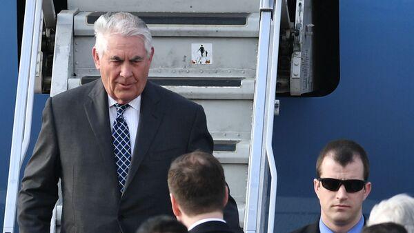 Návštěva americkým ministrem zahraničí Rexem Tillersonem Moskvy - Sputnik Česká republika