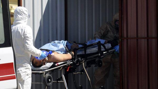 Po chemickém útoku v Idlibu - Sputnik Česká republika