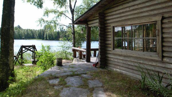Dům u jezera ve Finsku - Sputnik Česká republika