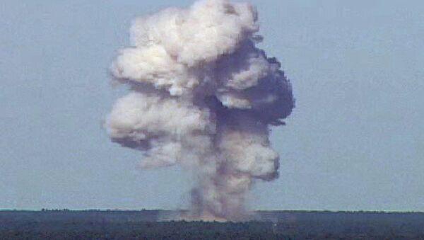 Zkouška bomby GBU-43. Ilustrační foto - Sputnik Česká republika