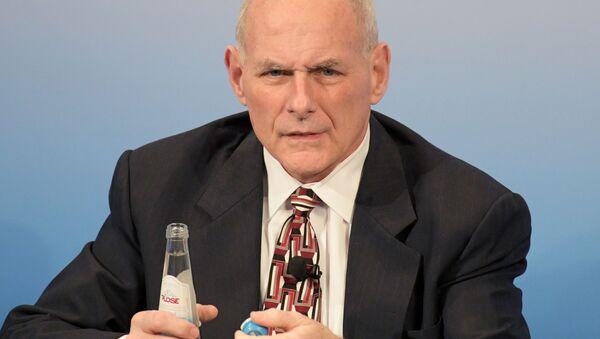 Americký šéf Bílého domu John Kelly. - Sputnik Česká republika