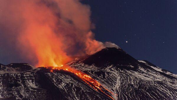 Erupce vulkánu - Sputnik Česká republika